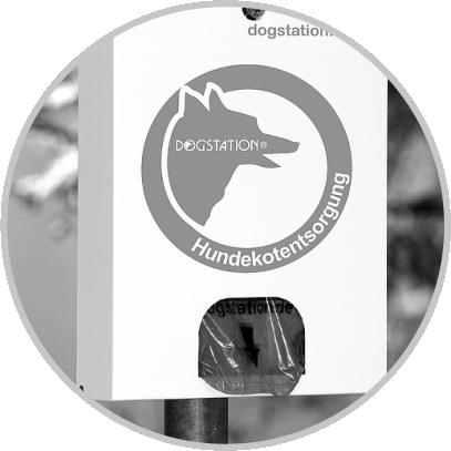 Dogstation(R) D2: Tütenspender für bis zu 700 Hundekotbeutel