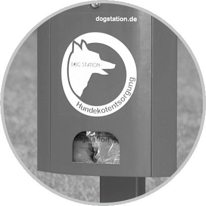 Dogstation(R) D4: Tütenspender für bis zu 1200 Hundekotbeutel