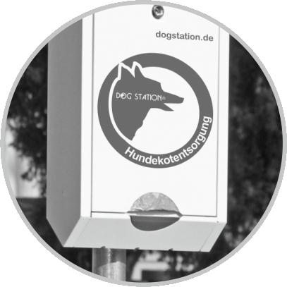 Dogstation(R) D3: Tütenspender für bis zu 800 Hundekotbeutel