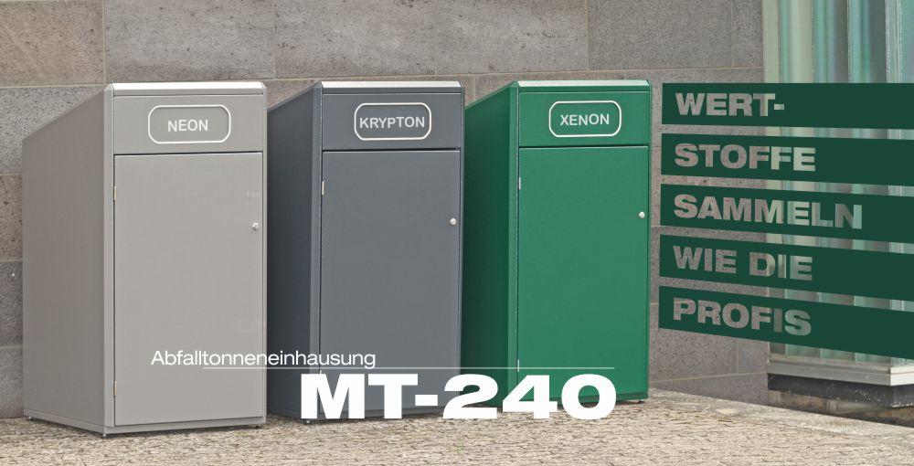 Abfalltonneneinhausung MT-240 Garage fuer 240-Liter Abfalltonnen